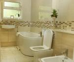 Status shaped bath