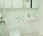 Eco Cologne Gloss White Cabinets