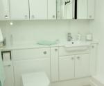 Eco Cologne Gloss White Cabinets