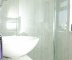Nuance Chalkwood Riven Showerwall Panels