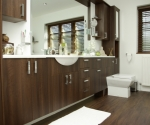 Dark Walnut Cabinets
