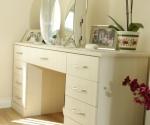 Avola White Dressing Table