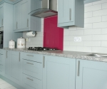 Crown Midsomer Grey Aqua Kitchen