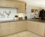 Natural Aragon Oak Kitchen