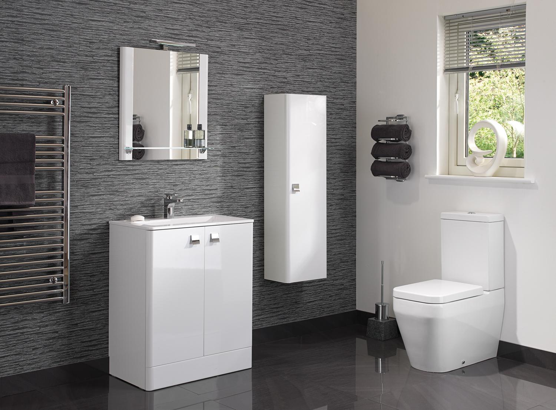gloss gloss modular bathroom. Category: Modern Bathrooms. Gloss Modular Bathroom