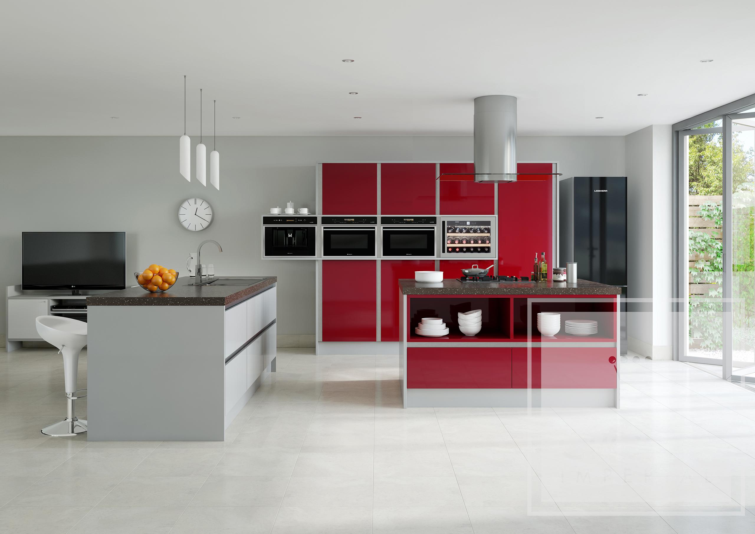 crown rialto gloss black silver white tri anglia designs. Black Bedroom Furniture Sets. Home Design Ideas
